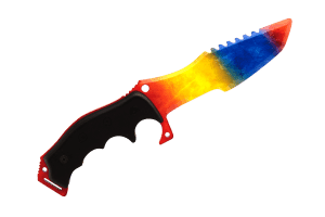 Деревянный Охотничий нож Хантер VozWooden Мраморный Градиент (реплика) Фото №1