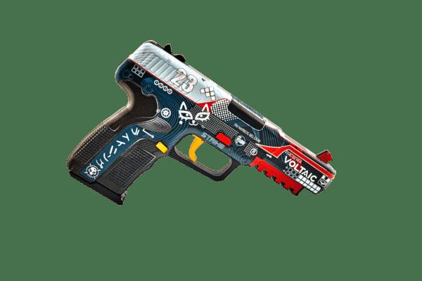 Деревянный пистолет VozWooden Five-seveN (FN) Кровавый Спорт (резинкострел) Фото №1