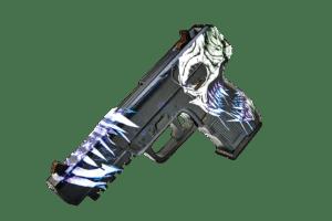 Деревянный пистолет VozWooden Five-seveN (FN) Жнец (резинкострел) Фото №1