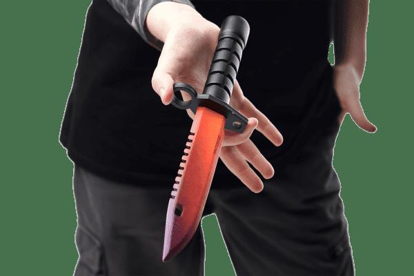 Деревянный Штык-нож М9 Bayonet VozWooden Градиент (реплика) Фото №4