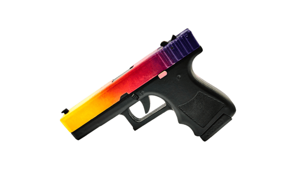 Пистолет VozWooden Glock-18 Градиент (деревянный резинкострел) Фото №1