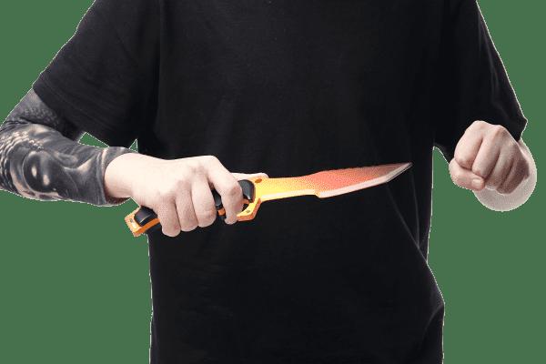 Деревянный Охотничий нож Хантер VozWooden Градиент (реплика) Фото №5