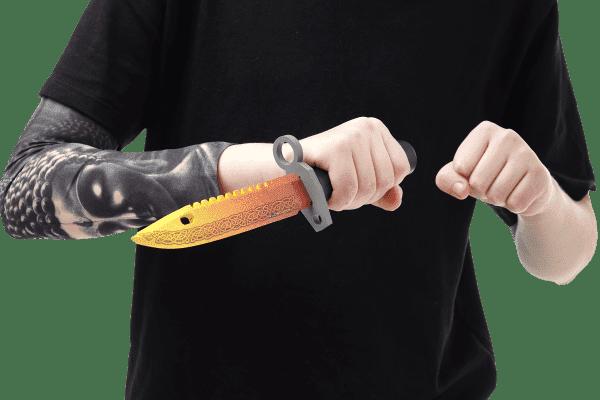 Деревянный Штык-нож М9 Bayonet VozWooden Легенда (реплика) Фото №5