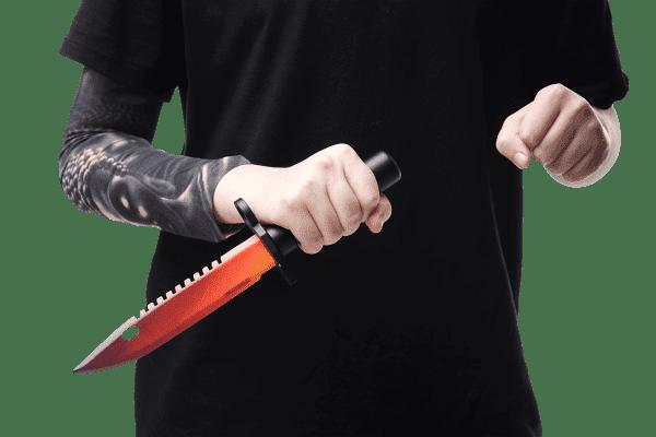 Деревянный Штык-нож М9 Bayonet VozWooden Градиент (реплика) Фото №5