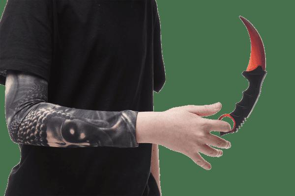 Деревянный нож Керамбит VozWooden Градиент (реплика) Фото №5