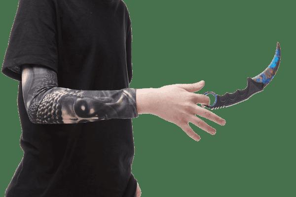 Деревянный нож Керамбит VozWooden Поверхностная Закалка (реплика) Фото №5