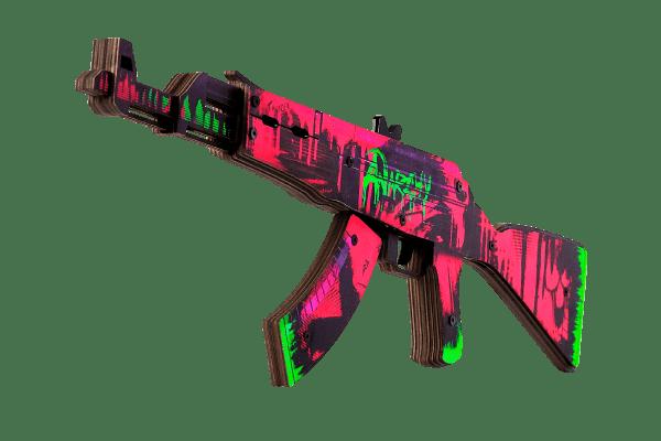 АК-47 Неоновая Революция за 1690 руб Фото №1