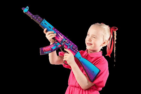 АК-47 Неоновый Гонщик за 1690 руб Фото №5