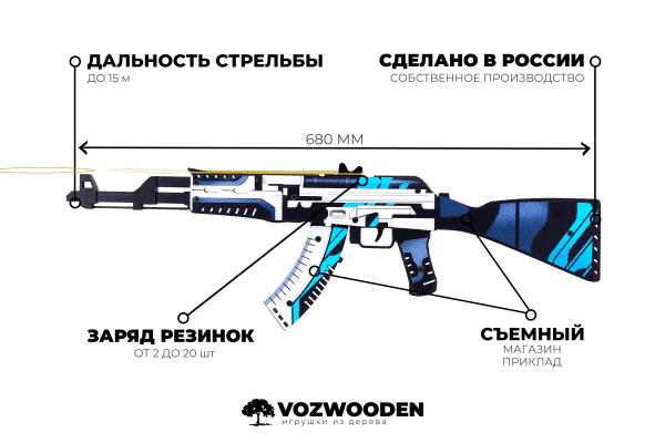 АК-47 Вулкан за 1690 руб Фото №6