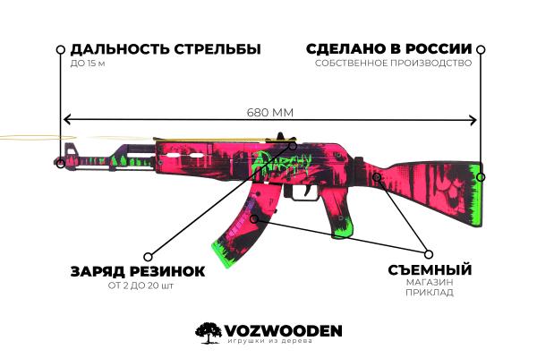 АК-47 Неоновая Революция за 1690 руб Фото №6