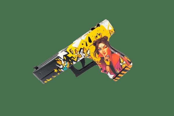Пистолет VozWooden Glock-18 Королева Пуль Фото №1