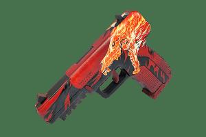 Деревянный пистолет VozWooden Five-seveN (FN) Утренний Вой (резинкострел) Фото №1