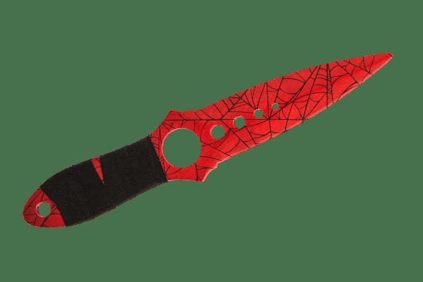 Деревянный Скелетный нож VozWooden Кровавая Паутина (реплика) Фото №1