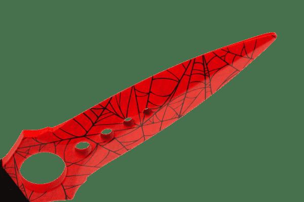 Деревянный Скелетный нож VozWooden Кровавая Паутина (реплика) Фото №3