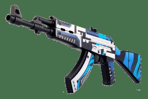 Деревянный автомат VozWooden Active АК-47 Вулкан (резинкострел) Фото №1