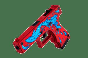 Деревянный пистолет VozWooden Active Glock-18 Дух Воды (резинкострел) Фото №1