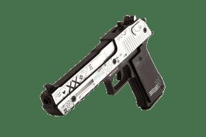 Деревянный пистолет VozWooden Active Desert Eagle Поток Информации (резинкострел) Фото №1