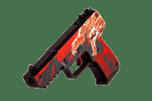 Деревянный пистолет VozWooden Active Five-seveN (FN) Вой (резинкострел) Фото №1