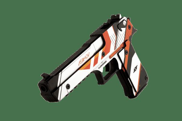 Деревянный пистолет VozWooden Active Desert Eagle Азимов (резинкострел) Фото №1