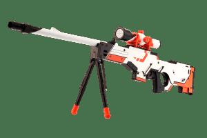 Деревянная снайперская винтовка VozWooden Active AWP Азимов (реплика) Фото №1