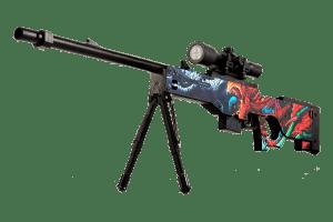 Деревянная снайперская винтовка VozWooden Active AWP Скоростной Зверь (реплика) Фото №1