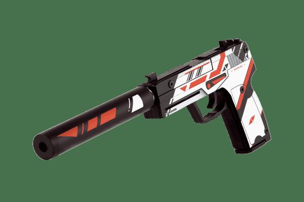 Деревянный пистолет VozWooden Active USP-S Азимов (резинкострел) Фото №1