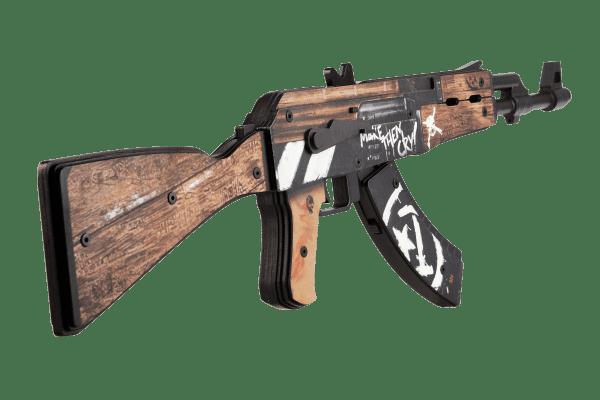 Деревянный автомат VozWooden Active АК-47 Пустынный Повстанец (резинкострел) Фото №1