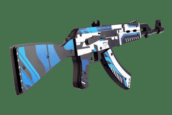 Деревянный автомат VozWooden Active АК-47 Вулкан (резинкострел) Фото №2