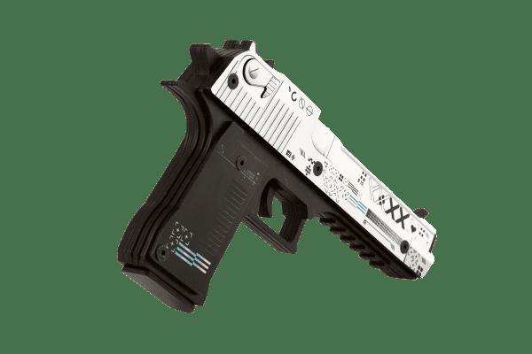 Деревянный пистолет VozWooden Active Desert Eagle Поток Информации (резинкострел) Фото №2