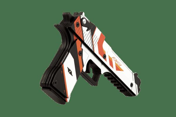 Деревянный пистолет VozWooden Active Desert Eagle Азимов (резинкострел) Фото №2
