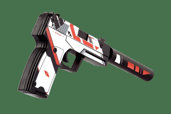 Деревянный пистолет VozWooden Active USP-S Азимов (резинкострел) Фото №2