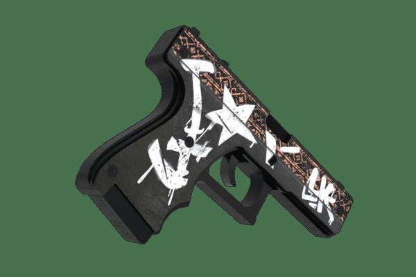 Деревянный пистолет VozWooden Active Glock-18 Пустынный Повстанец (резинкострел) Фото №2