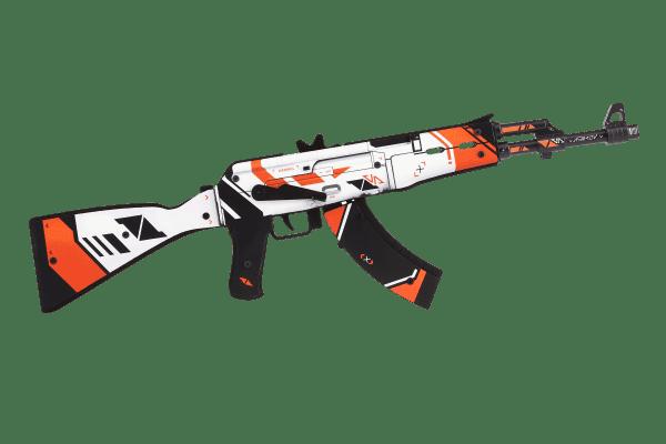 Деревянный автомат VozWooden Active АК-47 Азимов (резинкострел) Фото №3