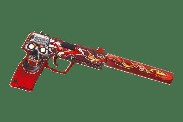 Деревянный пистолет VozWooden Active USP-S Убийство Подтверждено (резинкострел) Фото №3