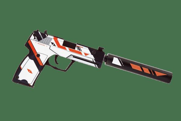 Деревянный пистолет VozWooden Active USP-S Азимов (резинкострел) Фото №3