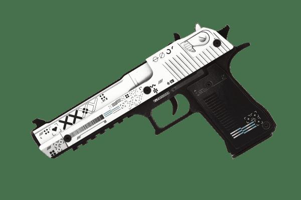 Деревянный пистолет VozWooden Active Desert Eagle Поток Информации (резинкострел) Фото №3