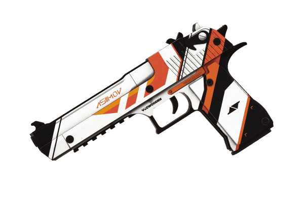 Деревянный пистолет VozWooden Active Desert Eagle Азимов (резинкострел) Фото №3