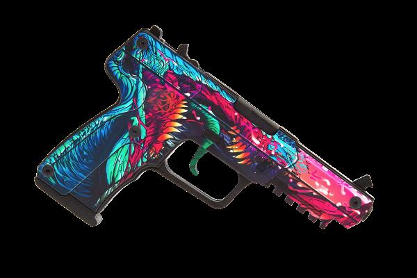 Деревянный пистолет VozWooden Active Five-seveN (FN) Скоростной Зверь (резинкострел) Фото №1