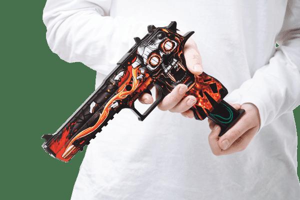 Деревянный пистолет VozWooden Active Desert Eagle Убийство Подтверждено (резинкострел) Фото №4