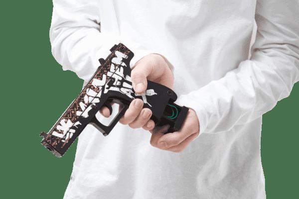 Деревянный пистолет VozWooden Active Glock-18 Пустынный Повстанец (резинкострел) Фото №4