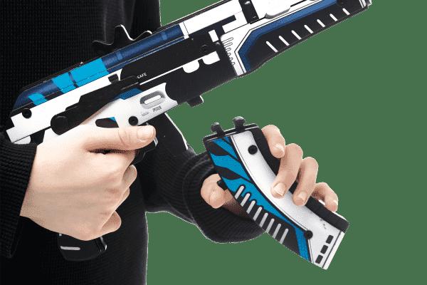 Деревянный автомат VozWooden Active АК-47 Вулкан (резинкострел) Фото №5