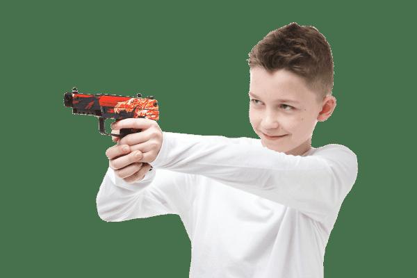 Деревянный пистолет VozWooden Active Five-seveN (FN) Вой (резинкострел) Фото №5