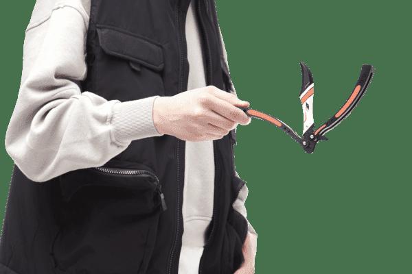 Деревянный нож Бабочка VozWooden Азимов (реплика) Фото №5