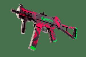 Пистолет-пулемет VozWooden Active UMP-45 Неоновая революция (деревянный резинкострел) Фото №1