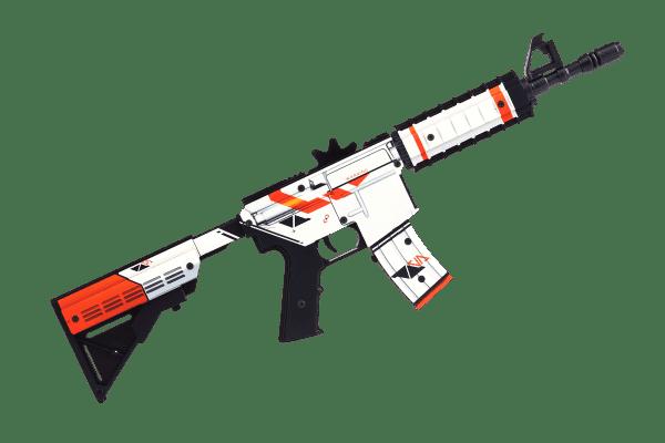 Деревянный автомат VozWooden M4A4 Active Азимов (резинкострел) Фото №3