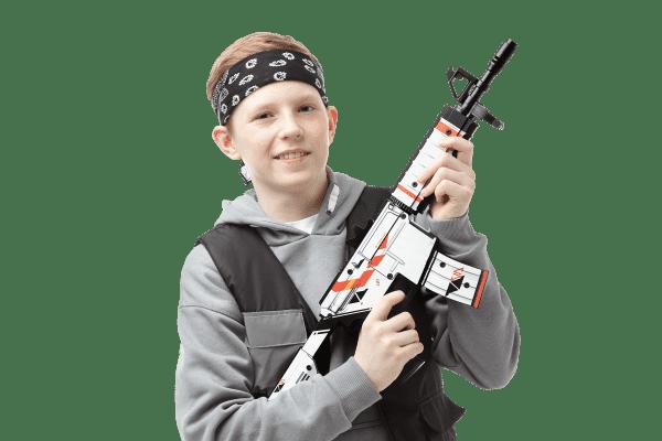Деревянный автомат VozWooden M4A4 Active Азимов (резинкострел) Фото №6