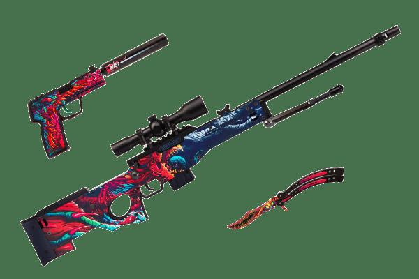"""Набор деревянного оружия """"Снайпер Скоростной Зверь"""" Фото №1"""