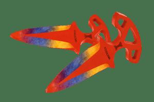 Деревянные Тычковые ножи VozWooden Мраморный Градиент (реплика) Фото №1