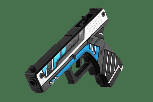 Деревянный пистолет VozWooden Active Glock-18 Вулкан (резинкострел) Фото №1