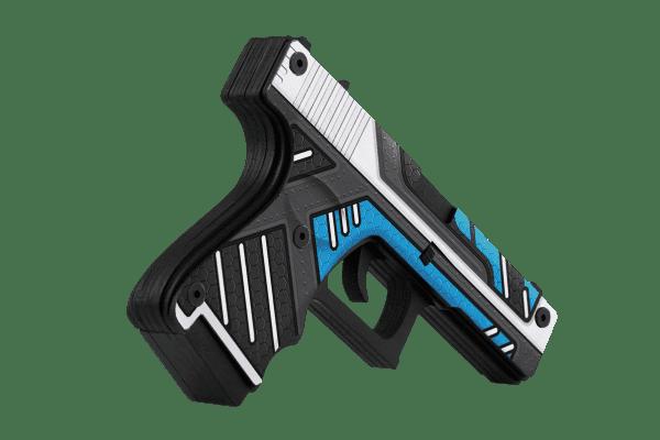 Деревянный пистолет VozWooden Active Glock-18 Вулкан (резинкострел) Фото №2